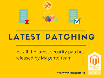 Install the latest Magento security patches