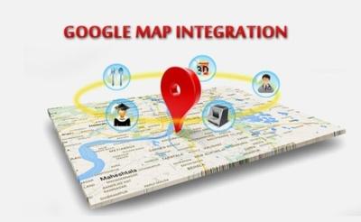 Implement Google Map API