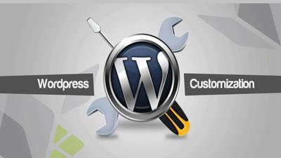 Install, modify, create with WordPress