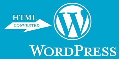 convert your existing static HTML website to a WordPress website
