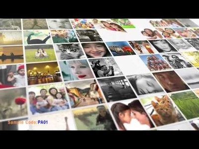 Make this photo gallery album video