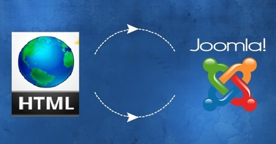 Convert your existing static HTML website to a Joomla Website