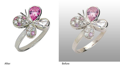 Do Jewelry editing and Jewelry retouching within 24 hours