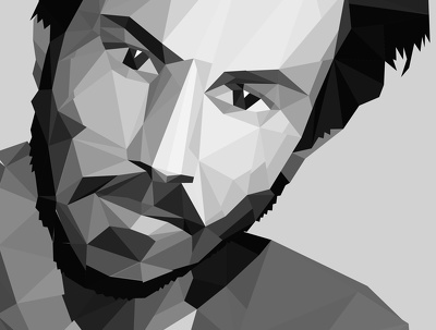 Transform your portrait photo into low poly art