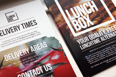 Design your double sided flyer with unlimited revisions
