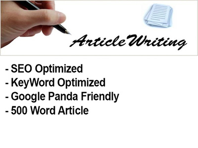 write 4x 400 words SEO articles on any given Keywords
