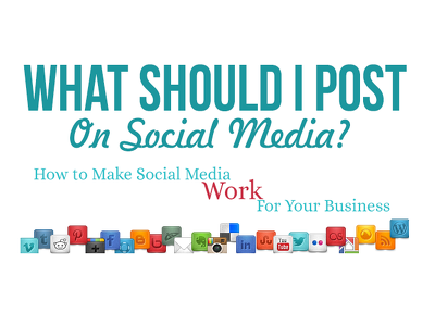 Post on your social media daily