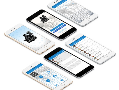 Design mobile app for iOS or Android