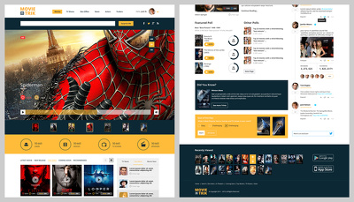 Design a homepage 100% pixel-perfect PSD for website layout [.psd only]
