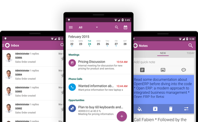 Develop the best Odoo (OpenERP) Android app using Odoo Mobile Framework