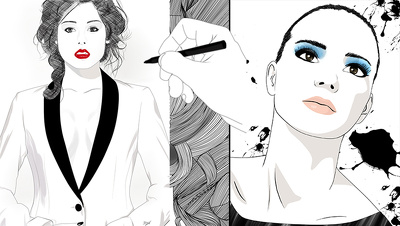 Create a fashion illustration from your photo
