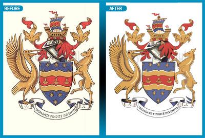Convert raster image/logo to vector