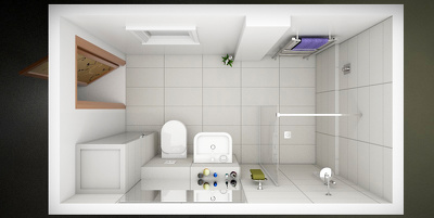 Design and render your bathroom