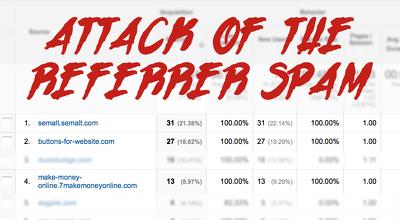 Stop Spam Referrals in Google Analytics