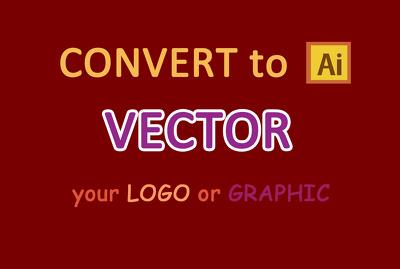 Convert your logo to vector