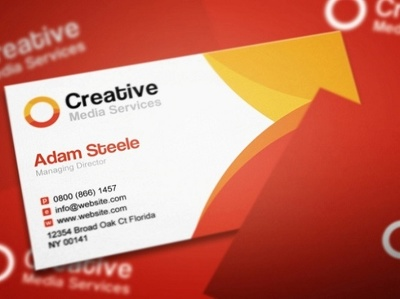 Design an OUTSTANDING business card