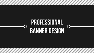 design an awesome banner