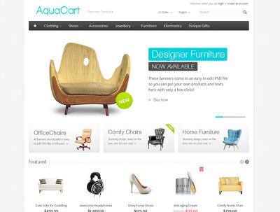 Design a Responsive bespoke Ecommerce Website