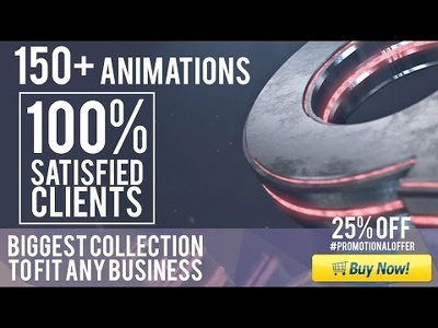 Make a 3D or 2D  logo animation or logo reveal or youtube intro unlimited samples