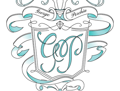 Draw a stylish Wedding Monogram