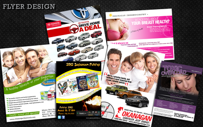 Design Your Leaflet / Flyer / Postcard / Brochure - Any Size, Single or Double Sided
