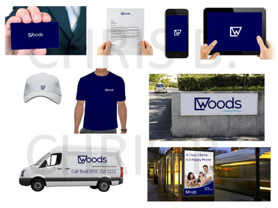 Brand Identity Mockup on Digital Devices, Stationary and other context