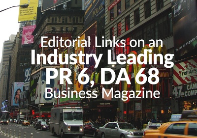 Publish a guest post on a leading Business Magazine