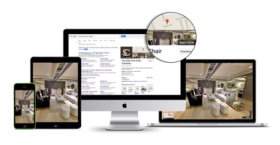 Virtual Tour of Your business for Google Search, Google Maps and Google+