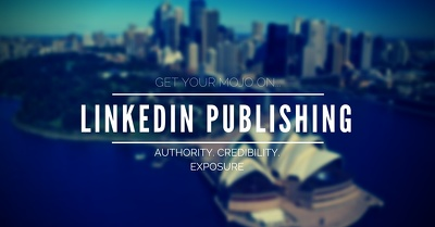 Write & publish on Your LinkedIn profile