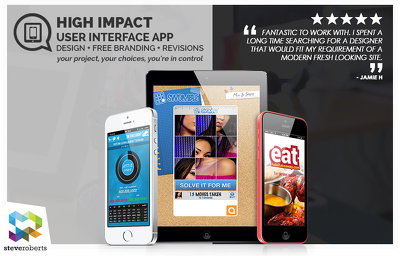UIX App Design | FREE Branding + Revisions
