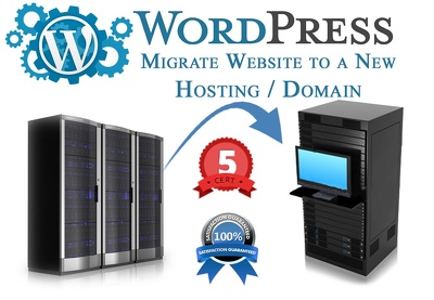 Migrate One WordPress site to a new Hosting/Server or domain
