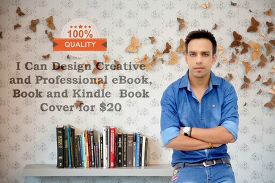Design Creative and Professional eBook and Kindle Book Cover