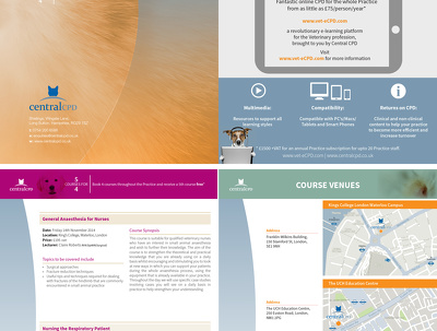 Design your 4 page brochure