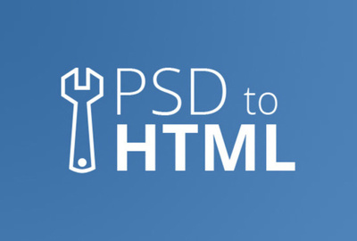 Convert your PSD to Resposive HTML (1 Page Website or Newsletter)