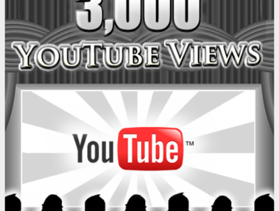 Promote your YouTube video with 3000 Good Retention + Splitable Youtube Views