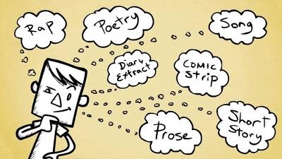 Write a page of creative writing
