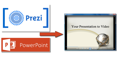 Convert your Prezi or Powerpoint presentation to Video