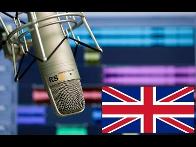 Record any british/US voice over