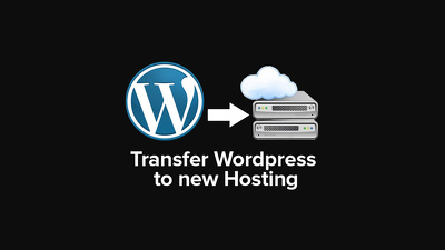 Move / transfer a WordPress site from one domain / hosting to another Securely