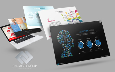Design a professional, engaging PowerPoint presentation