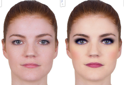 Get Realistic Make Over on your Face