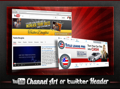 A Twitter Background or YouTube Channel Art