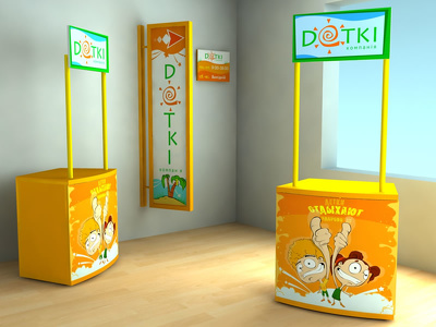 Perfect design pop-up/roll-up banner