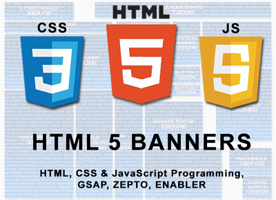 Build HTML 5 banners