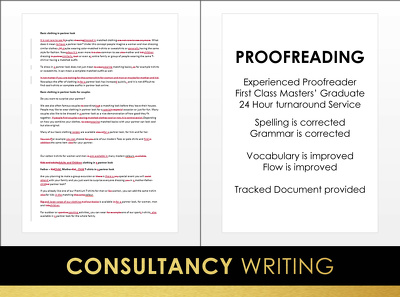 Proofread any content per 1000 words