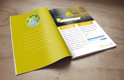 Design your marketing friendly brochure or flier