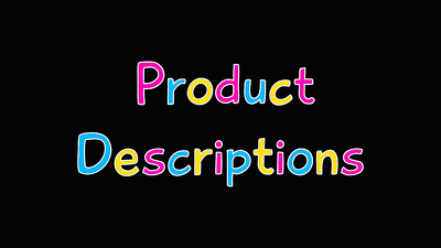 Write 50 product descriptions