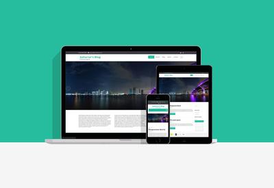 Develop a Wordpress Blog Website