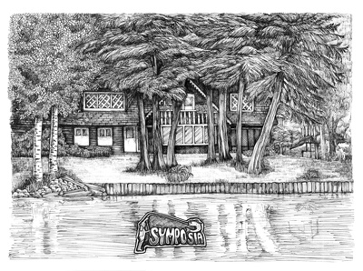 Create a high quality Drawing in Ink of your House / Residence.