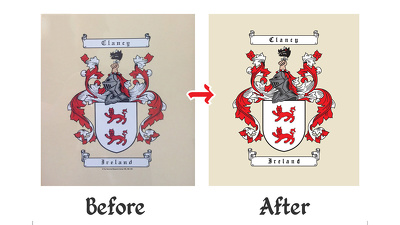 Vector / Redraw your logo with revisions